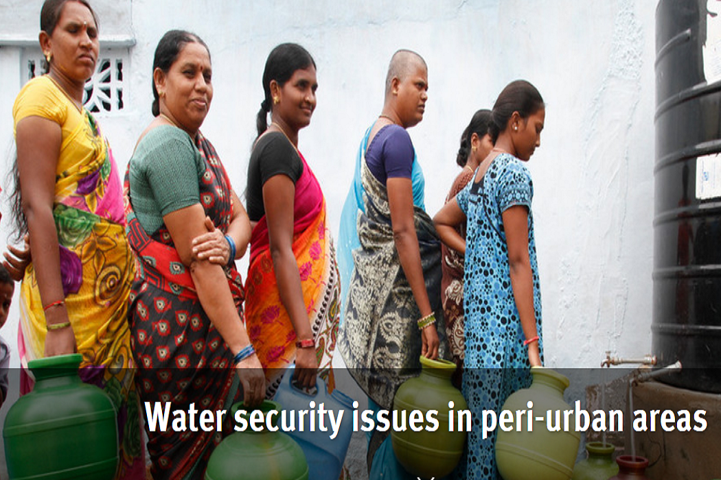 Water security issues in peri-urban areas