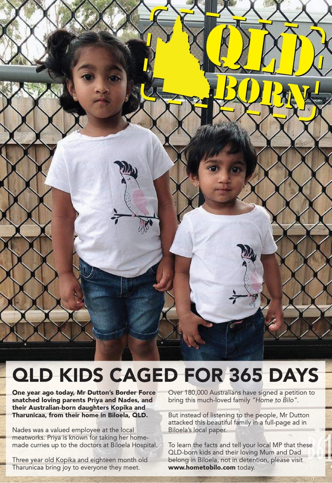 Let's Get This QLD Family Out of Detention And Home to Bilo